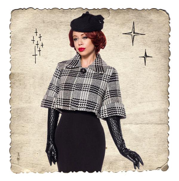 Retro Vintage Mäntel und Jacken
